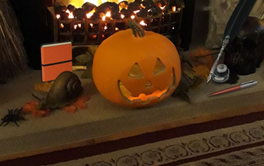 BOO-tiful Halloween Stationery