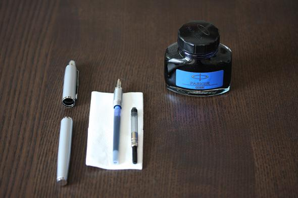 How to use a fountain pen converter