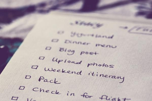 Staying Organised and On Top of your 'To Do' List