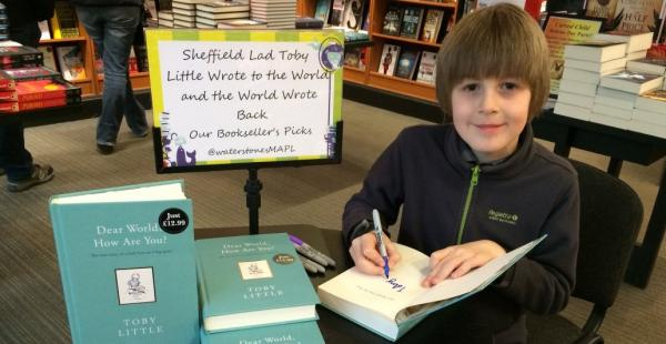 Writing to the World - Toby Little's Story