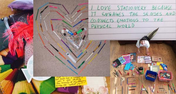 "Winner of our ""I Love Stationery Because..."" Competition"