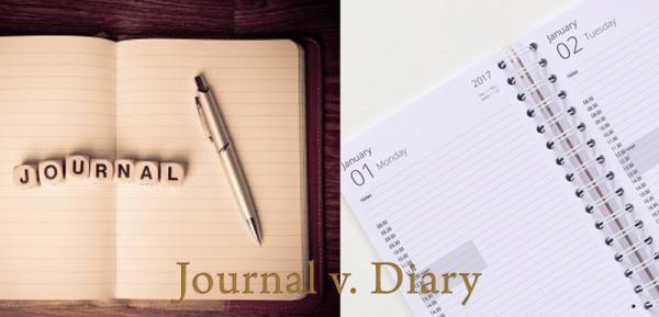Journal v Diary