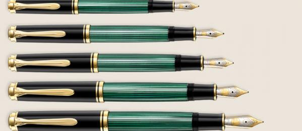 When Size Matters: A guide to Pelikan pen sizes