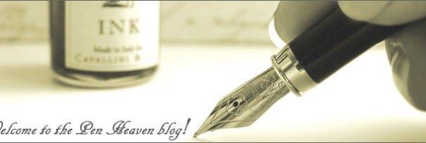 Introducing the Pen Heaven blog