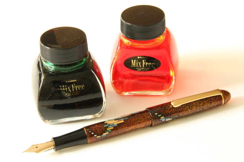 Art Competition: #InkToWin a Platinum Fountain Pen worth £2,000!