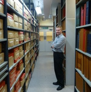 anthony richards head of documents at the imperial war museum