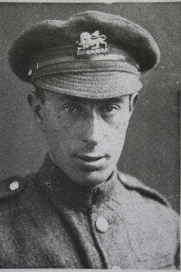 Isaac Rosenberg in uniform