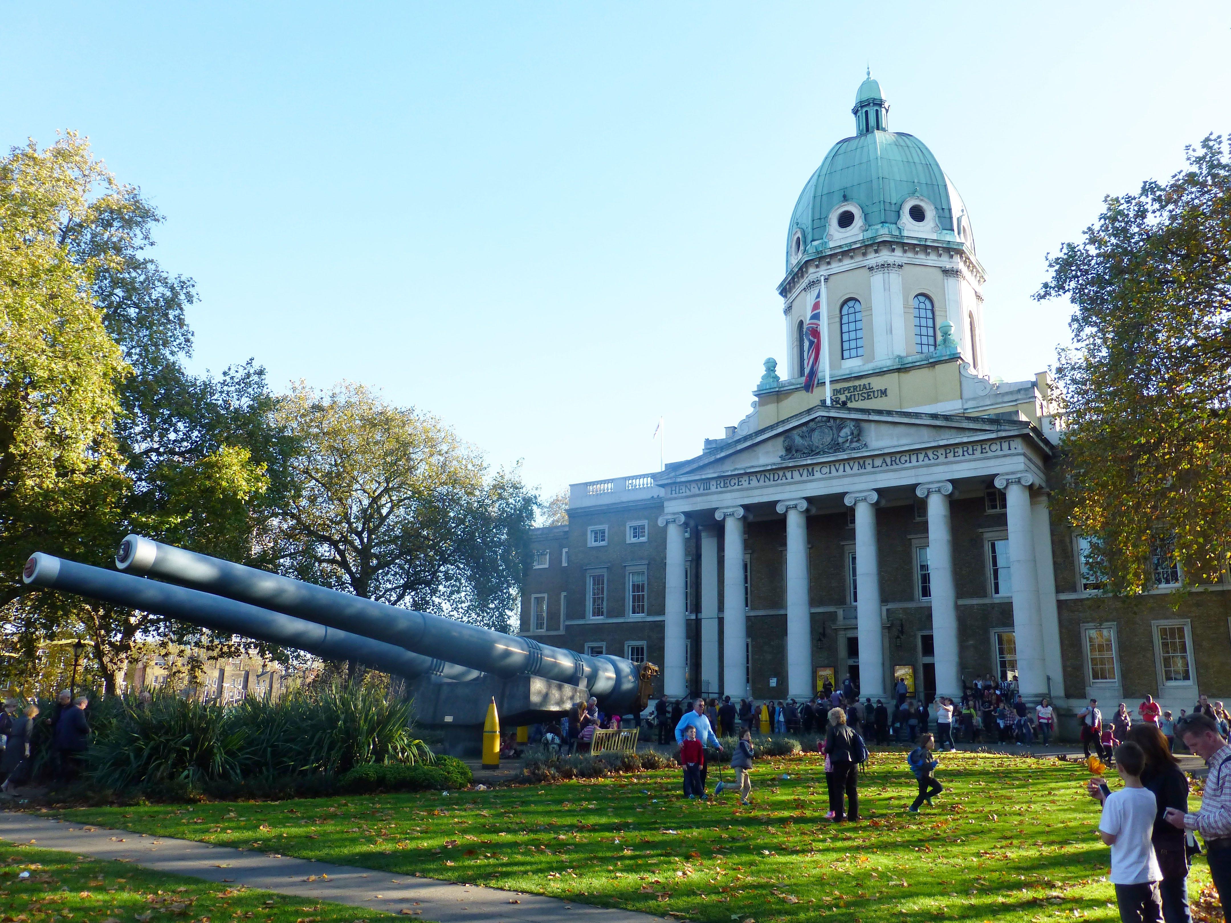imperial war museum facade