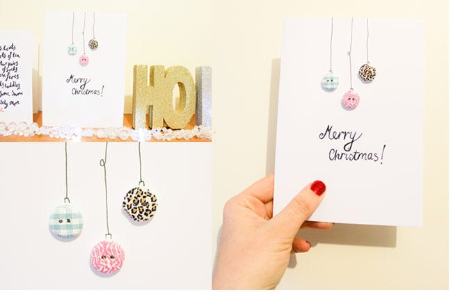 Christmas Craft Tips: Send A Handmade Card This Year!