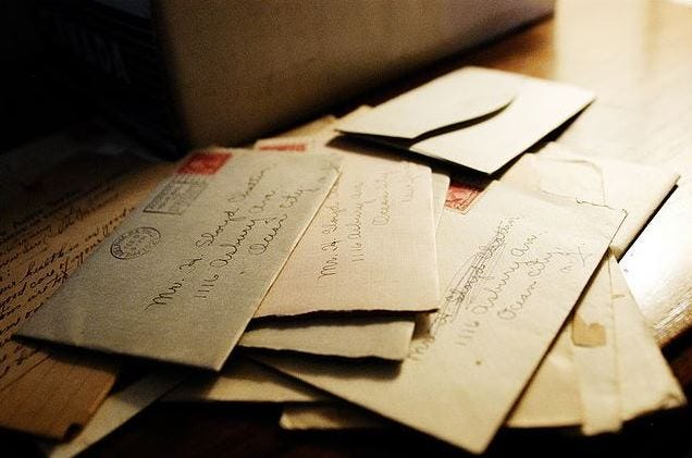 Letters Still Have A Place in Our Hearts
