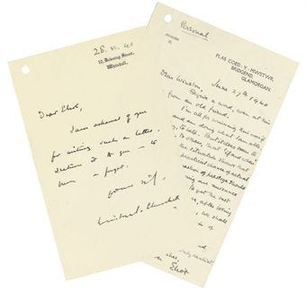 Handwritten letters which made history