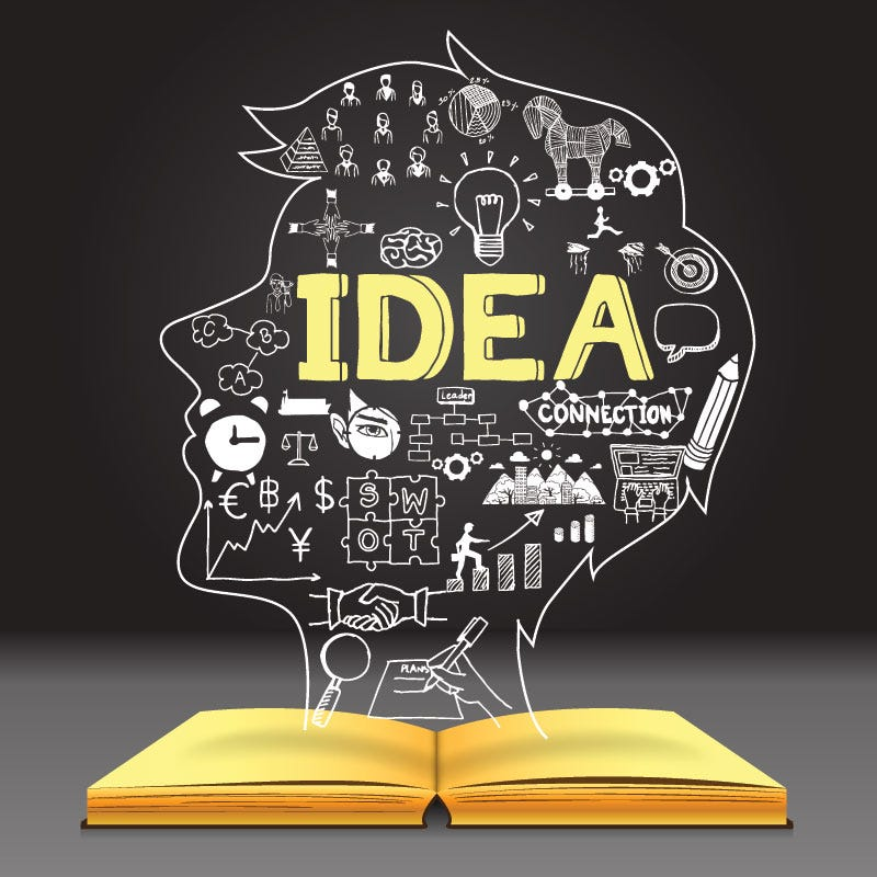 Behind every successful person is a notebook full of ideas