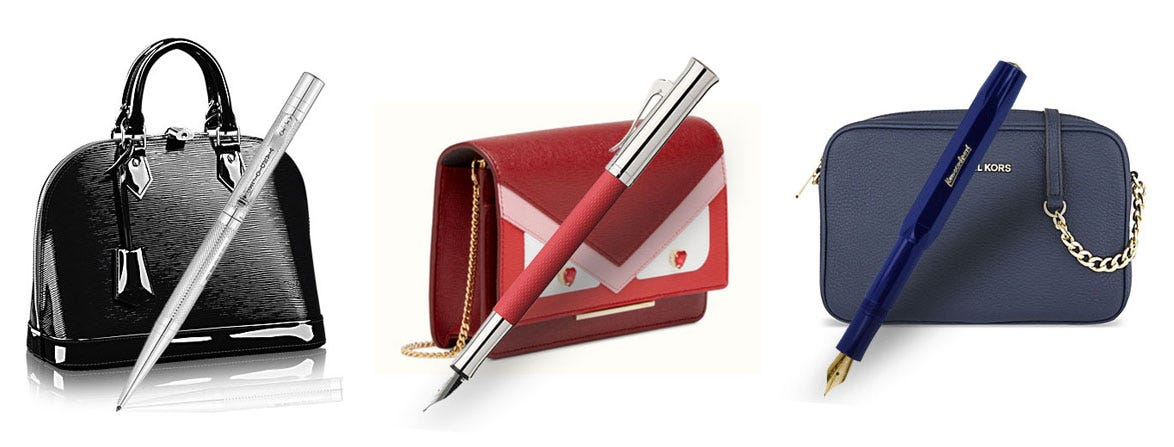 Which Handbag Shall I Wear with My Pen?