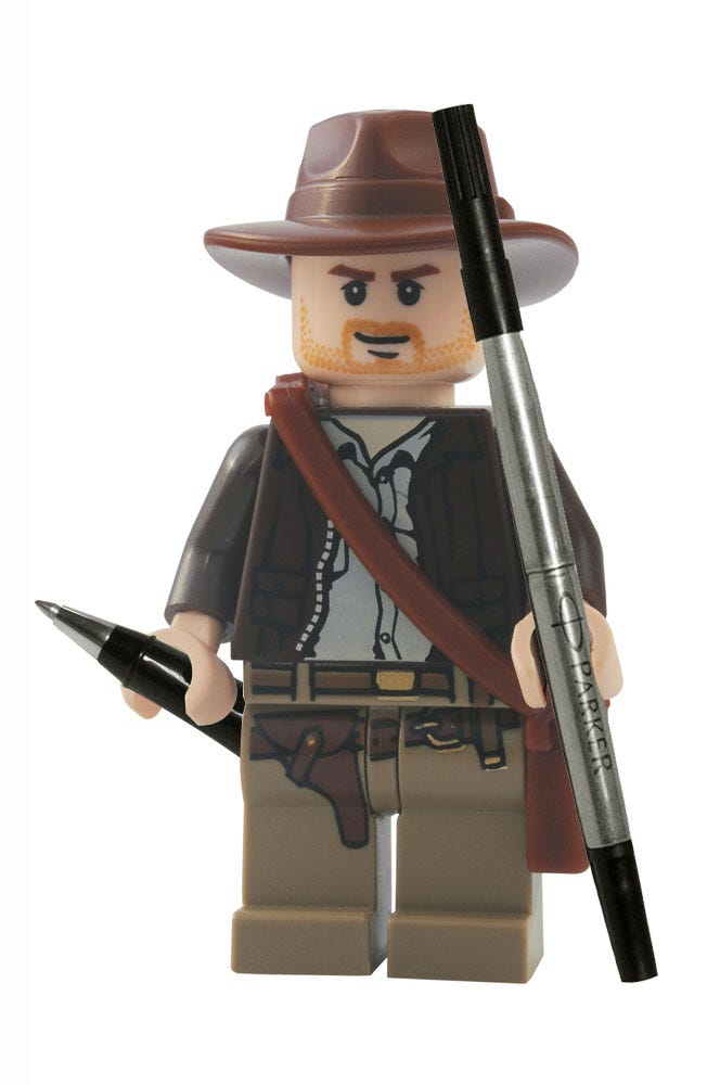 Lego Indiana with Refills
