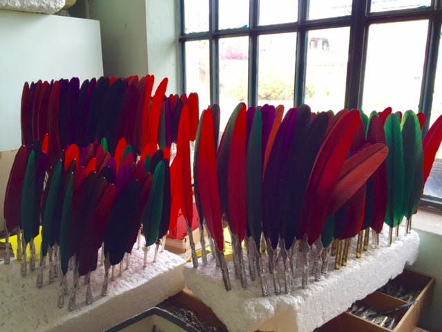 stacks of feathers 2