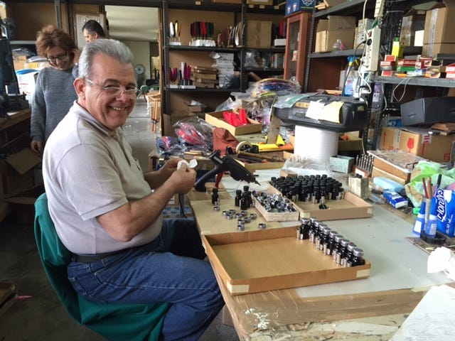 We Visit our Italian Calligraphy Factory