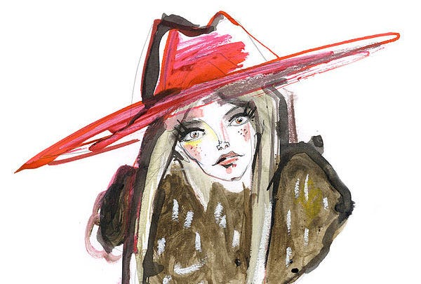 Interview with Pen & Ink Fashion Illustrator: Adriana Deco