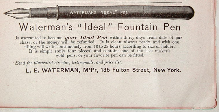 watermans-first-fountain-pen