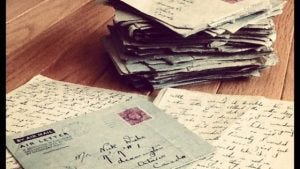 Digital Detox: Handwritten letters