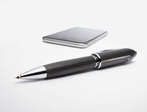 Cross TrackR - Peerless TrackR Carbon Black Ballpoint Pen lifestyle image
