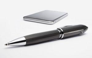Gadgets & Gismos: Cross Peerless TrackR Carbon Black Ballpoint Pen lifestyle image