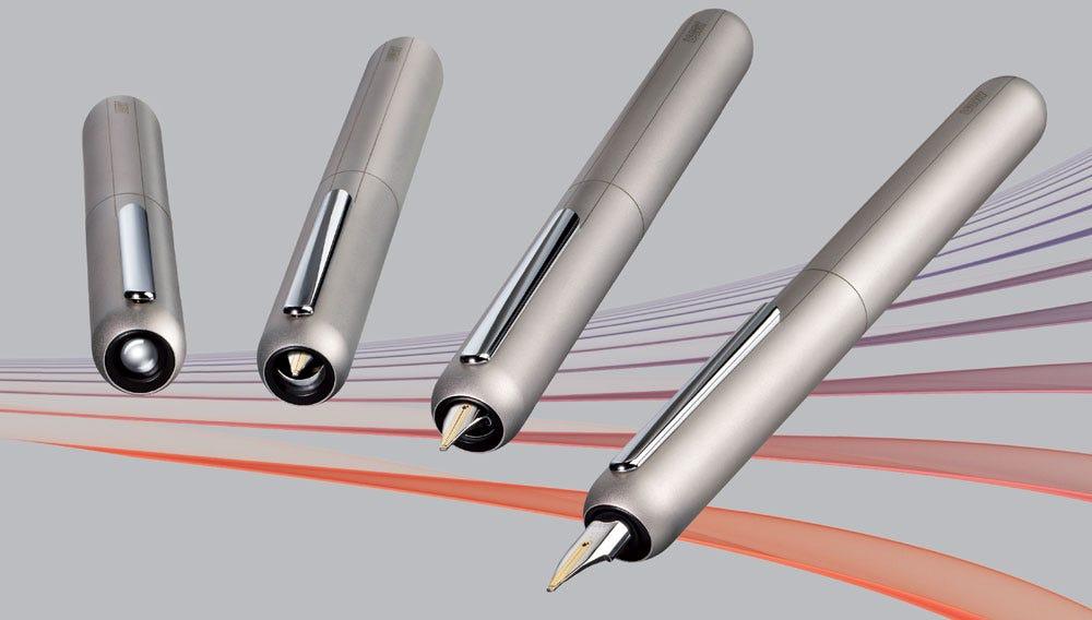 Gadgets & Gismos: Lamy Dialog 3 Palladium Fountain Pen - Retractable Nib
