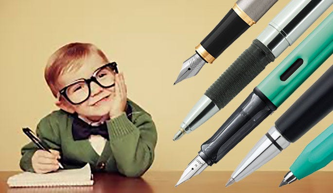 Pens for New Writers