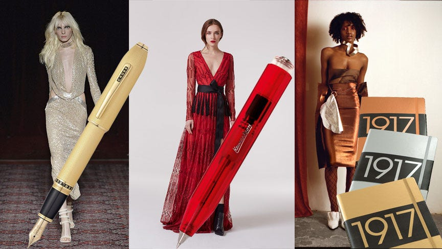 From Catwalk to Stationery Drawer