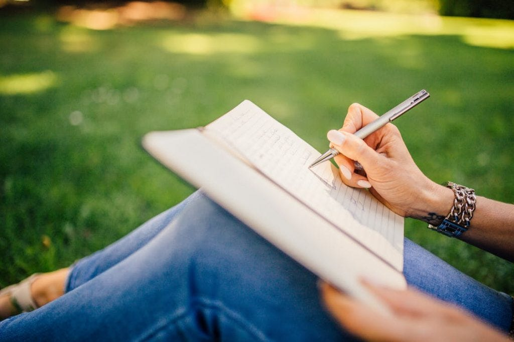 Why I Write: Writing in the Park