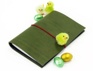 Easter Colour Egg-stravaganza: Green - Paper Republic Grand Voyageur