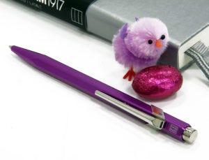 Easter Colour Egg-stravaganza: Metallics - Leuchtturm1917 Medium Notebook & Caran d'Ache 849 Ballpoint Pen