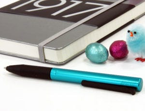 Easter Colour Egg-stravaganza: Metallics - Leuchtturm1917 Medium Notebook & Lamy Tipo Rollerball Pen