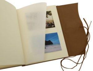 Royal Vows: Amalfi Extra Large Leather Photo Album – Chocolate
