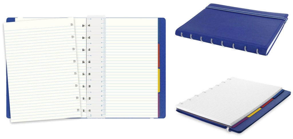 Top 5: Products for Students - Filofax Classic A5 Notebook