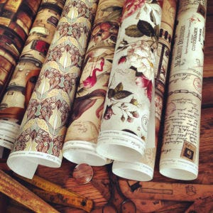 Bomo Art Wrapping Paper Designs