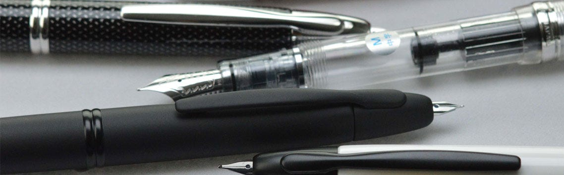 A selection of Pilot Pens
