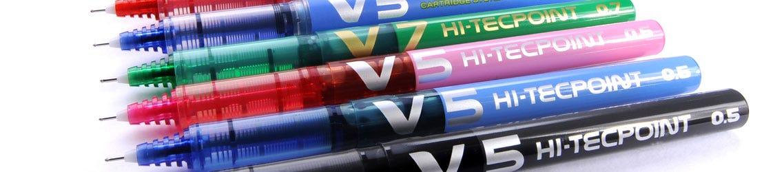 Pilot V-System rollerball pens