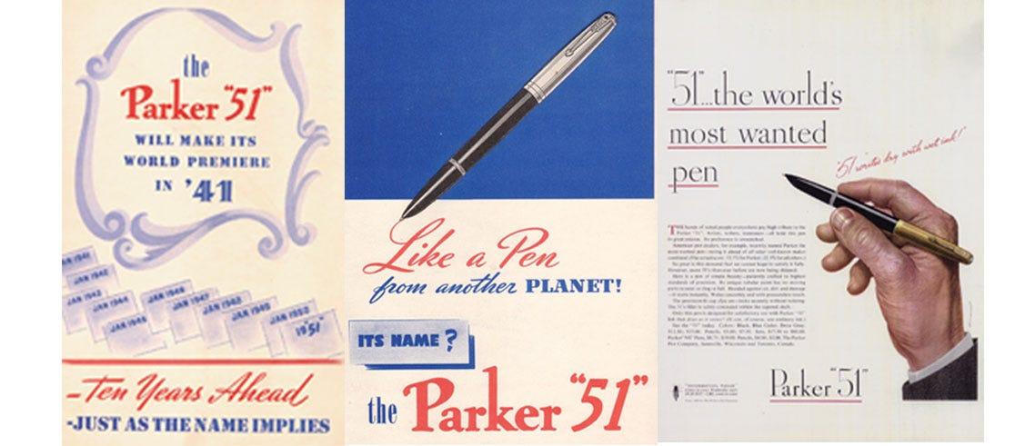 Parker 51 - Heritage Advertisements