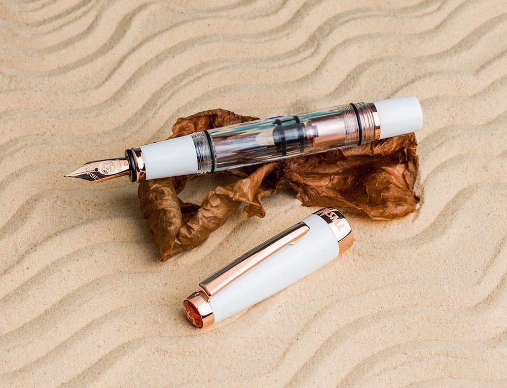 TWSBI Diamon Mini White Rose Gold Fountain Pen