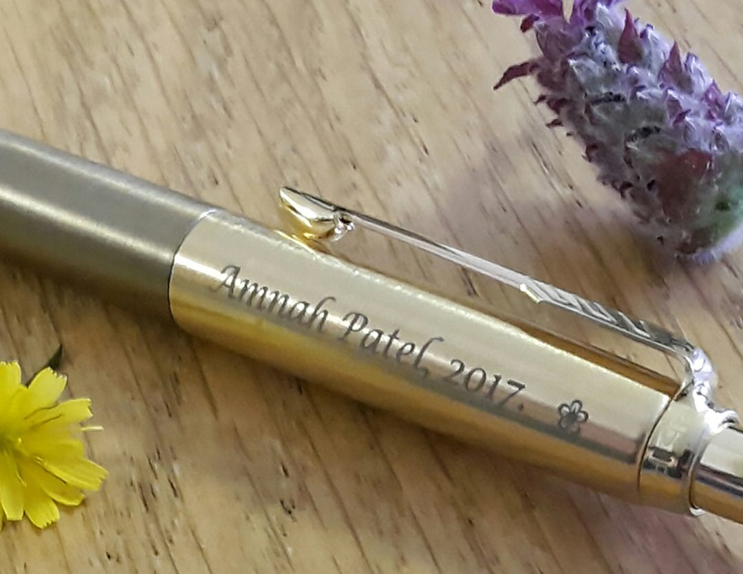 Parker Jotter West End Gold with Flower Symbol