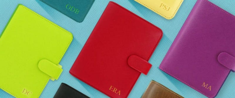 Embossing Service on Filofax