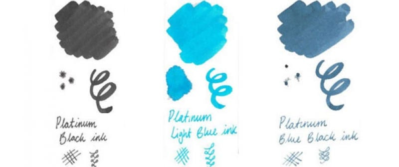 Platinum Ink Colours