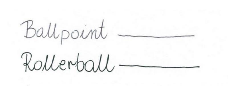 Rollerball vs Ballpoint Pens: A Comparison