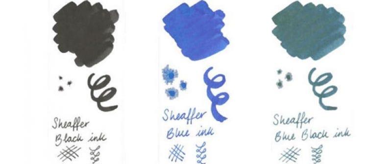 Sheaffer Ink Colours - Blue, Black, Blue-Black