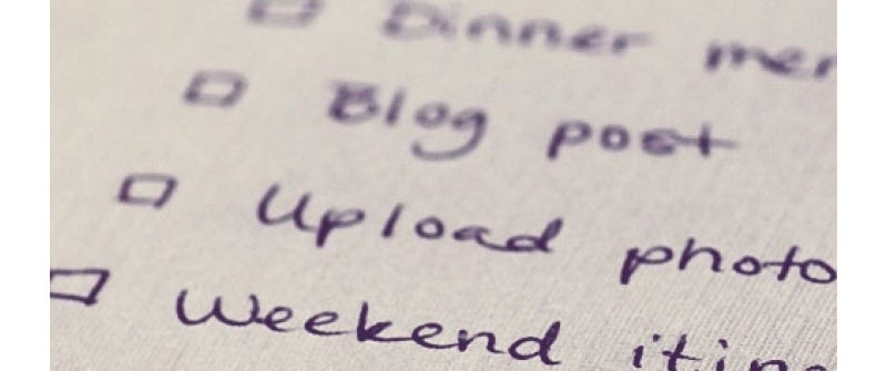 Staying Organised with a To-Do List