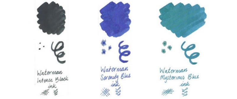 Waterman Ink Colours
